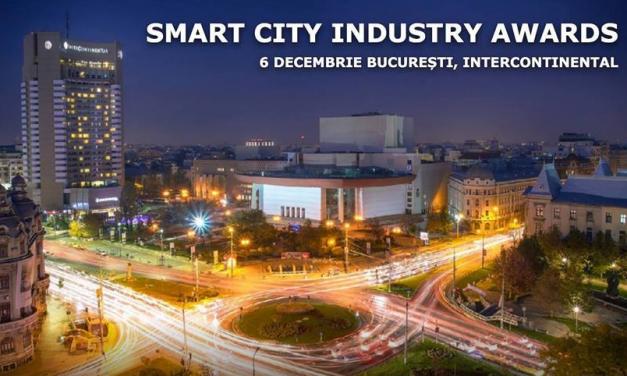 Eveniment național Smart City Industry Awards 6 decembrie București