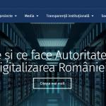 Autoritatea pentru digitalizarea româniei