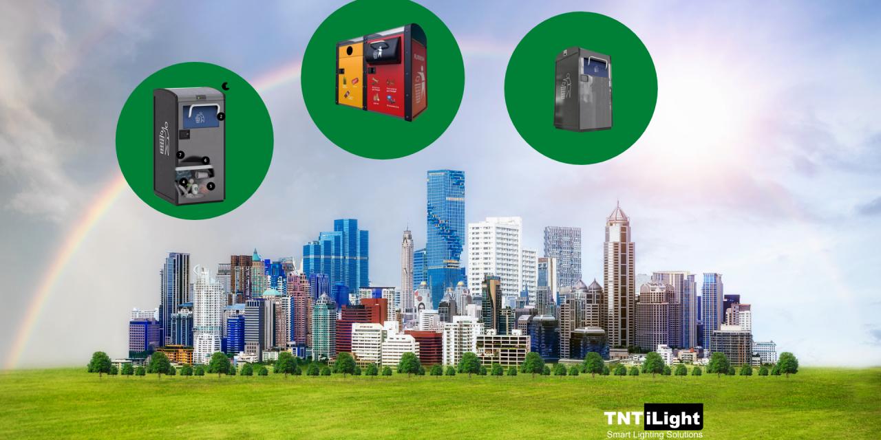 Orașe verzi. Colectare inteligentă