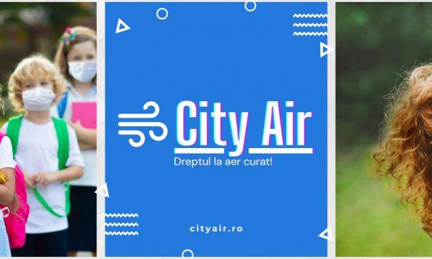 CityAir – primul program național de monitorizare a calității aerului în școli